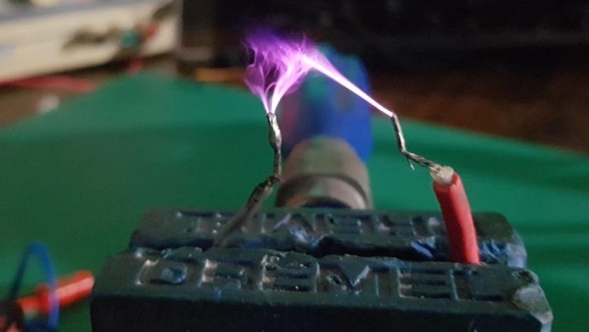 Microdescargas eléctricas