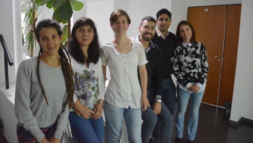 Los integrantes del grupo NanoSBio. FOTO Gentileza_investigadores