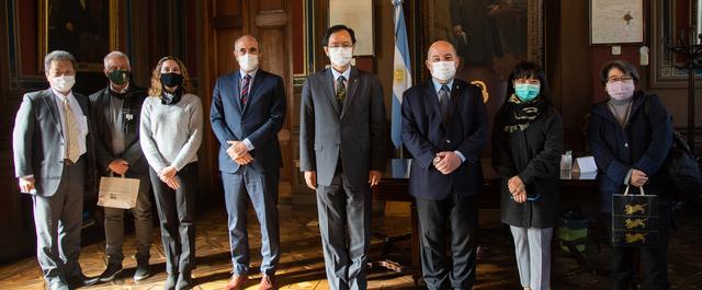El embajador del Japón y representantes de la Agencia de Cooperación JICA, visitaron la UNLP